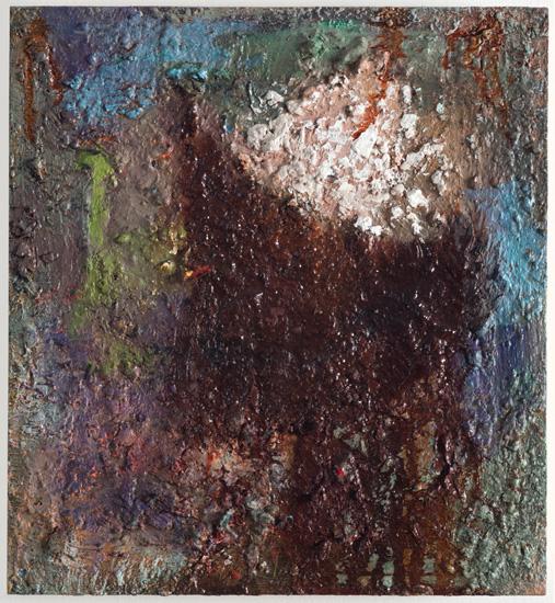 Bright Idea, 2014, oil on wood, 11 x 10 inches