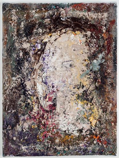 Portrait, 2013, oil on linen, 12 x 9 inches