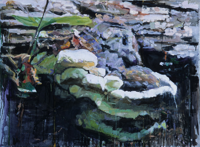 Glade, 2004, oil on linen, 28 x 38 inches