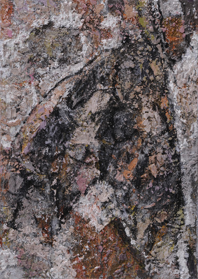 Hidden, 2009, oil on linen, 14 x 10 inches