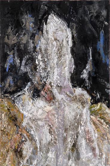 Portrait, 2006, oil on linen, 18 x 12 inches