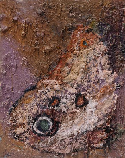 Rascal, 2008, oil on wood, 12 x 9.5 inches